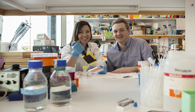 Behind the science: Kids' cancer research dynamic duo