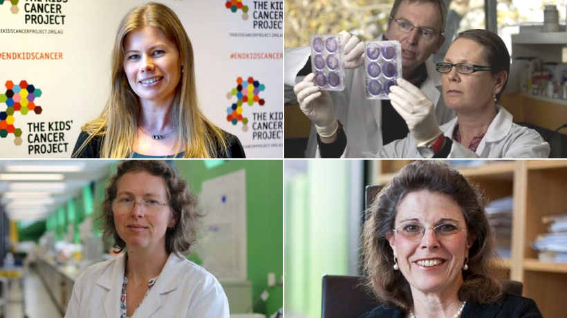 Four phenomenal female researchers