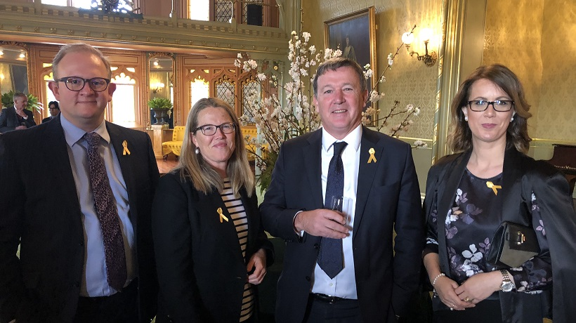 Childhood Cancer Awareness Month launches at Government House, Sydney