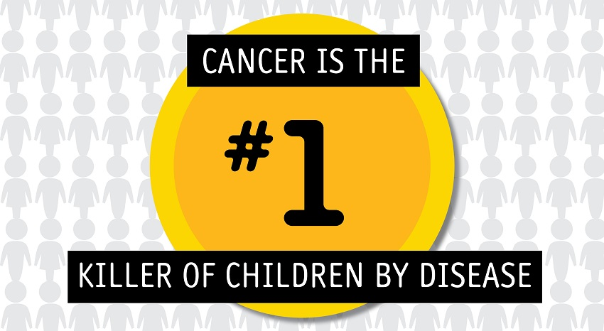 13 facts about kids' cancer
