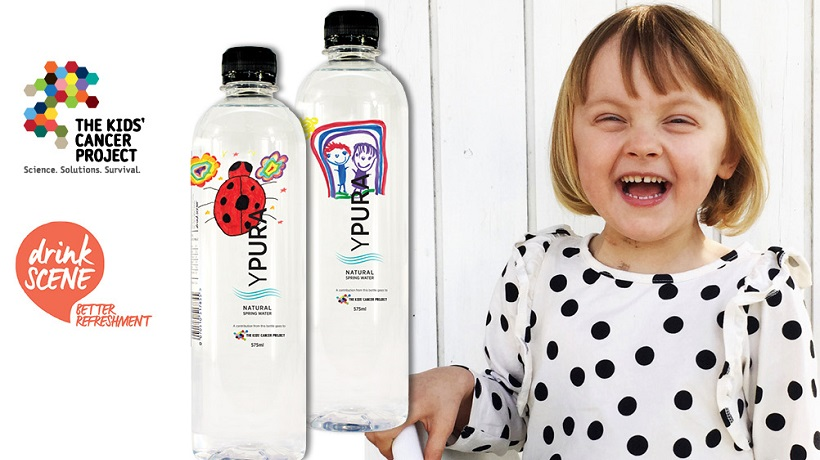 YPURA Natural Spring Water supports childhood cancer research