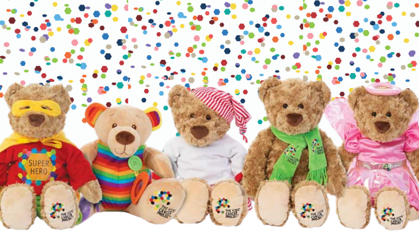 A toy bear drive for kids with cancer