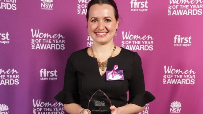 UNSW cancer researcher wins NSW Young Woman of the Year